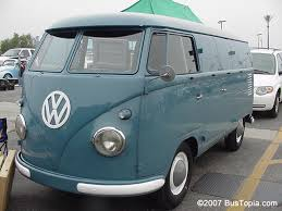 t1 volkswagen type 2 bus original paint color samples from