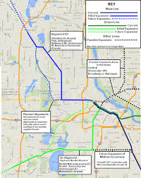Minneapolis Metro Transit Map by Can We Kill Two Birds With One Stone When It Comes To Light Rail