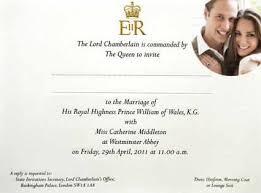 royal wedding invitation take a look at the royal wedding invitation e news