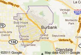 map of burbank ca foothill fence company serves burbank ca
