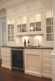 Glass Cabinets Kitchen by Love The Mission Style Cabinet Look Simple Also The Brushed