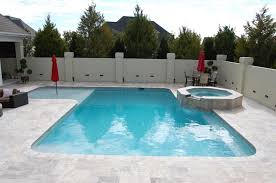Backyard Pool And Basketball Court Greenville Pool Pools