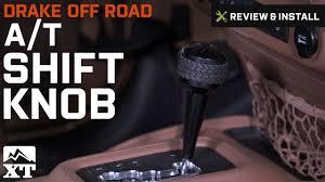 jeep wrangler drake off road a t shift knob 2011 2017 jk review