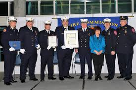 rvc fire department recognized for life saving effort herald