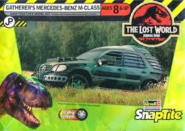 jurassic park car mercedes benz m class gatherer s jurassic park snap kit 1 25 fs