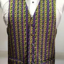 mardi gras vests mardi gras vest and bow tie retail s tuxedo