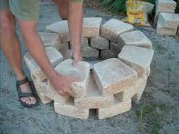 how to build a backyard fire pit out of bricks home outdoor