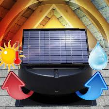solar attic fan ventilates 2 400 sq ft