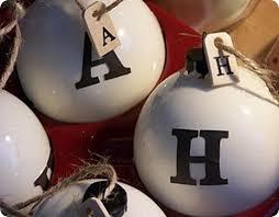 alphabet tree bulbs