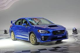 2015 subaru wrx wallpaper 2015 subaru wrx sti is winged to the teeth live photos
