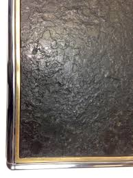 Wohnzimmertisch Schiefer Mid Century Chrom Couchtisch Mit Schieferplatte Bei Pamono Kaufen