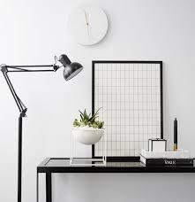 Copenhagen Desk Modern Designer Black Floor Lamp Scandinavian Style Lighting