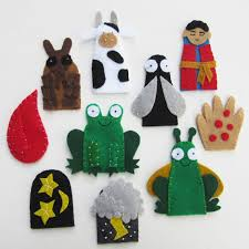 passover plague toys 10 plagues finger puppets for passover felt pattern