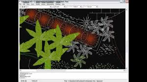 how to use cad for landscape design youtube