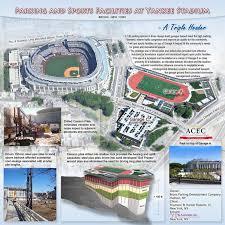 Yankee Stadium Floor Plan Yu U0026 Associates Parking And Sports Facilities At Yankee Stadium