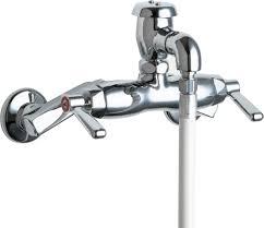 Chicago Faucet Kitchen Mop Sink Faucet Spec Sheet Best Faucets Decoration