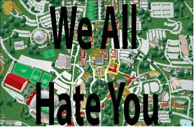 San Francisco State University Map by An Open Letter To Ole Miss Studentsthe Black Sheep