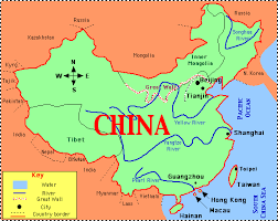 china on a map rivers of china map iris sans frontières