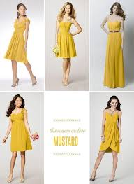 Yellow Dresses For Weddings The 25 Best Mustard Bridesmaid Dresses Ideas On Pinterest