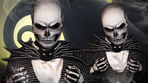 Jack Pumpkin King Halloween Costume Realistic Jack Skellington Makeup Tutorial