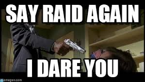 Say What Again Meme - say raid again say what again meme on memegen