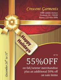 christmas gift wrap sale 43 free christmas flyer templates for diy printables