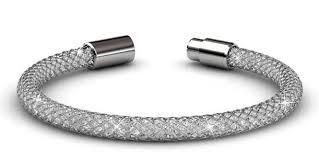 silver mesh bracelet with images Destiny jewellery silver mesh bracelet with embellished with jpg