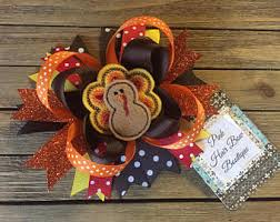 thanksgiving hair bows thanksgiving hair bow pink thanksgiving hair bow turkey hair