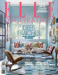 best interior design magazines 5 editions of elle décoration