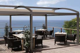 Cloth Patio Covers Minimalist Deck Patio Outdoor Style With Prato Retractable Cover