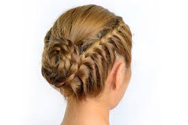 braided extenions hairstyles styling with tape in hair extensions braided bun