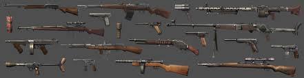 gun modeling for fpp games