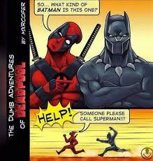 Deadpool Funny Memes - deadpool angers the marvel batman dhtg