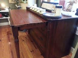 vintage buffet table telescoping u2014 new decoration determine