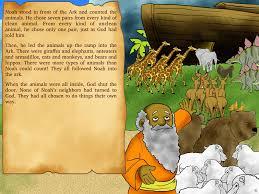 noah u0027s ark bible story the great flood bible stories for children
