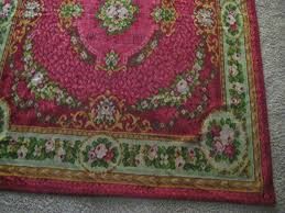 Raspberry Pink Rug 2die4 Antique Mohair Table Cover Rug Throw In Raspberry W Roses
