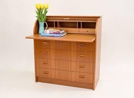 teak roll top desk danish modern teak rolltop desk sold vintage modern maine
