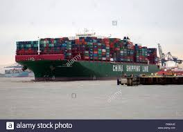 large container ship the indian ocean of china shipping line