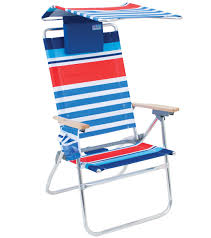 Rio 5 Position Backpack Chair Rio Brands Hi Boy Aluminum Beach Chair With Canopy And Pillow At