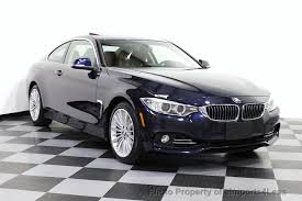 bmw 435i series 2014 used bmw 4 series certified 435i xdrive luxury line awd coupe