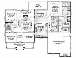 traditional style house plan 3 beds 2 50 baths 2067 sq ft plan