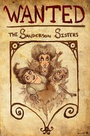 vintage witch birthday sanderson sisters wanted poster on deviantart hocus pocus