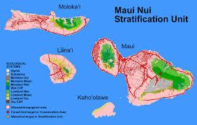 Molokai Map Maps And Figures