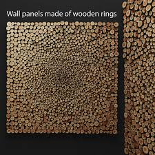 wood pannel mosaic wood panel 3d 2 cgtrader