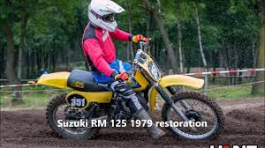 twinshock motocross bikes for sale restoration suzuki rm 125 1979 the best 125cc twinshock bike
