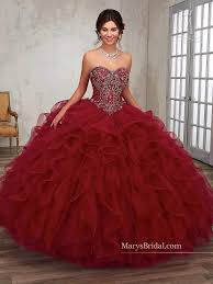 quincia era dresses strapless ruffled quinceanera dress by s bridal princess