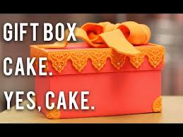 cake how to how to make a gift box out of cake chocolate buttercream and