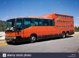 Wyoming travel buses images German tour bus at yellowstone national park wyoming stock photo jpg