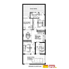 60 sq feet house plan for 23 feet by 60 feet plot plot size 153 square yards