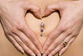 top belly rings images How to know when your belly button ring is healed jpg